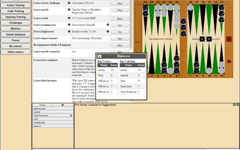 FIBS the First Backgammon Server