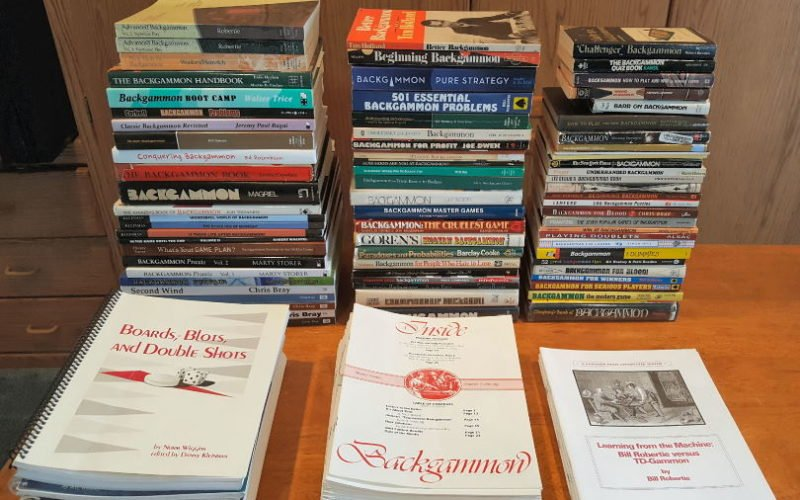 Backgammon Recommended Books